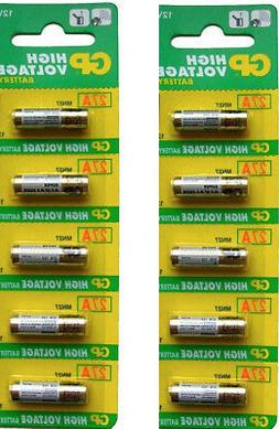 10 X 27A CA22 A27 EL812 G27A GP27A L828 MN27 12V Battery for