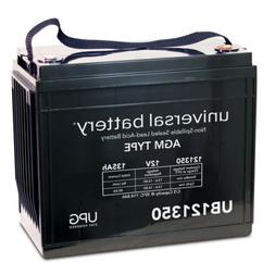 12V 135AH Sealed AGM Battery EZ Go Club Car Yamaha 48 Volt 4