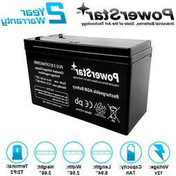 PowerStar 12V 7AH SLA Battery for Henes Broon RC Ride On Toy