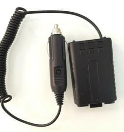 12V Car Charger Battery Eliminator for BaoFeng BL-5 BF-F8HP