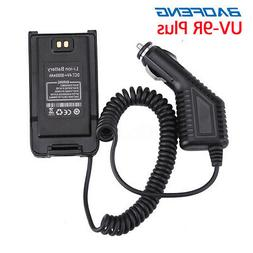 12V Car Charger Radio Battery Eliminator Adapter For Baofeng