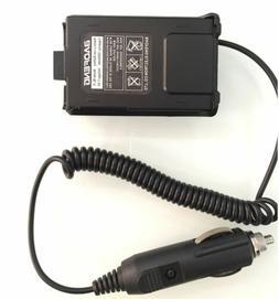 12V Car Charger Radio Battery Eliminator For Baofeng BF-UV5R