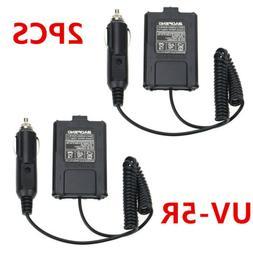12V Car Cigar Charger Battery Eliminator For UHF VHF Dual FM