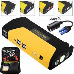 12V Car Jump Starter 600A Booster 68800mAh Emergency Battery