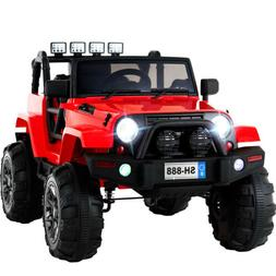12V Electric Battery Kids Ride on Car Toys Truck LED MP3 Wit