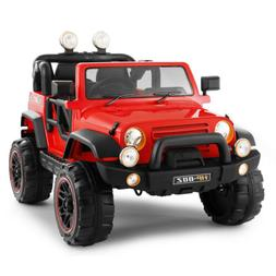 12V Electric Battery Power Kids Ride on Car Truck Toys LED M