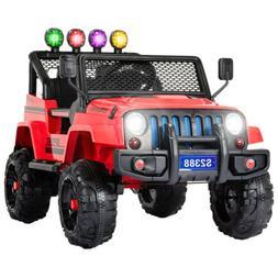 12V Kids Ride on Car Toys Electric Battery Light Suspension