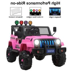 12V Powered Kids Ride on Toys Car Electric Battery w/Remote