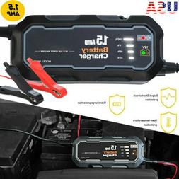 1500mAh Car Jump Starter Booster Jumper Box Power Bank Batte