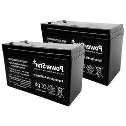 2 Pack- 12V 9Ah BATTERY APC BACK-UPS XS1500 RBC109 PS-1290 R