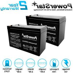 2 x 12V 7Ah Sealed Lead Acid Battery for Electric Scooter an