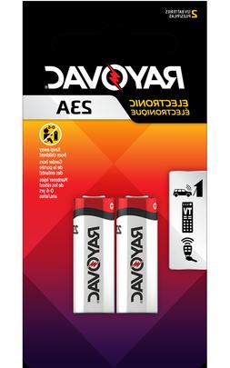 RAYOVAC 23A Alkaline 2 Packs 12V Batteries, Car Key less Ent