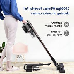 2in1 Cordless Handheld Upright Stick Floor Car Vacuum Cleane