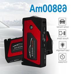 69800mAh 600A 12V Car Jump Starter Booster Clamp USB Battery