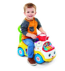 Little People Fisher-Price Music Parade Ride-On, White