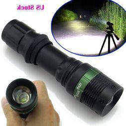 3W 3500mAh Rechargeable LED 18650 Flashlight w/ Battery+Car