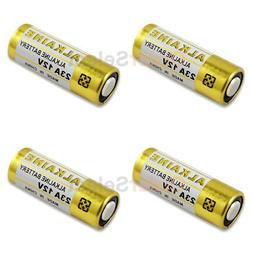 4 PACK Battery A23 23A 21/23 MN21 23AE Car Remote FOB Contro