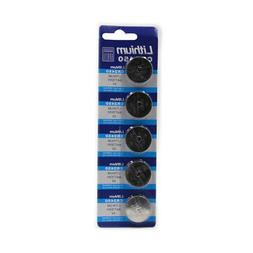 5pcs Electronics CR2450 3.0V Button Cell Coin Single Use Wat