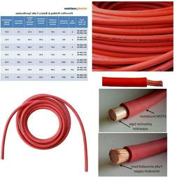 6 gauge 6 awg 25 feet red