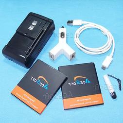6ln1 3270 mAh Battery Car Charger Cable For MetroPCS Motorol