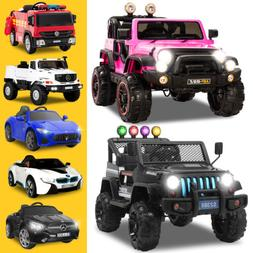 6V/12V/24V Powered Electric Kids Ride on Toy Car Battery 8 C