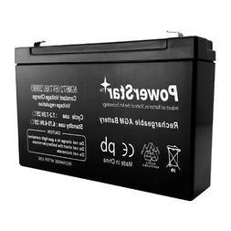 PowerStar 6V 7AH SLA Battery Replaces Gallagher S17 Solar Fe