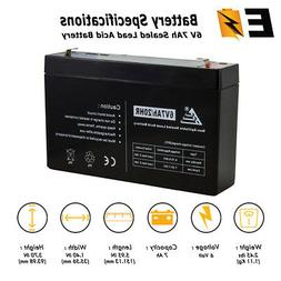 ExpertBattery 6V 7Ah SLA Replacement Battery for Hello Kitty