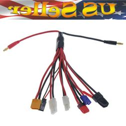 8in1 Lipo Battery Charger Multi Charging Plug Convert Cable