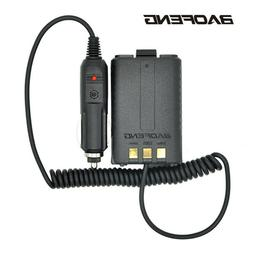 Baofeng Battery Eliminator Car Charger 5R series Walkie Talk