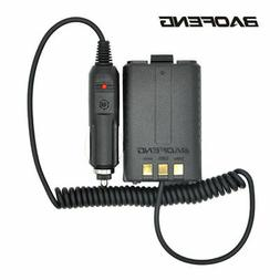 Baofeng Battery Eliminator Car Charger for Portable Walkie T