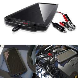 Battery Maintainer Solar Charger 12V Tender Car Trickle Moto