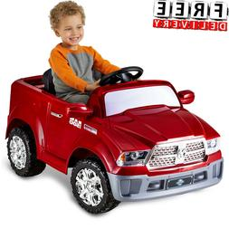 Battery Powered Car For Kids Ride On Toy 6V Electric Dodge R