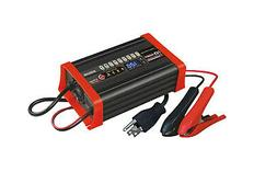 BC8S1210A 12V 10A Smart Battery Charger Maintainer comp w/FO