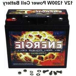 Car Audio Power Cell Battery Energie ER1200 12 Volt 1200 Wat