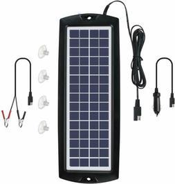 Sunway Solar Car Battery Charger 12V Battery Trickle Charger