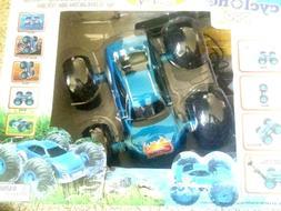 Cyclone All Terrain Pro 4x4 RC Electric Car Blue w/Quick Cha