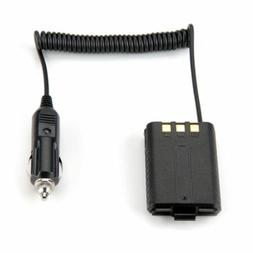 DC Car Charger Battery Eliminator For Baofeng UV-5R UV5R UHF