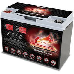 Full Throttle FT185 AGM Power Cell Car Audio Battery Full Ri