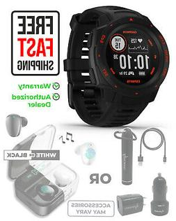 Garmin Instinct Esports Edition Black Lava GPS Smartwatch wi