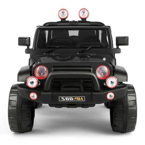 12V on Truck Car MP3 LED Lights Remote Control Black