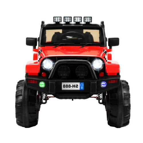 12V Electric Kids Ride Car Truck LED MP3 Remote