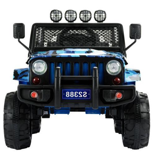 12V Car Suspension Remote Blue