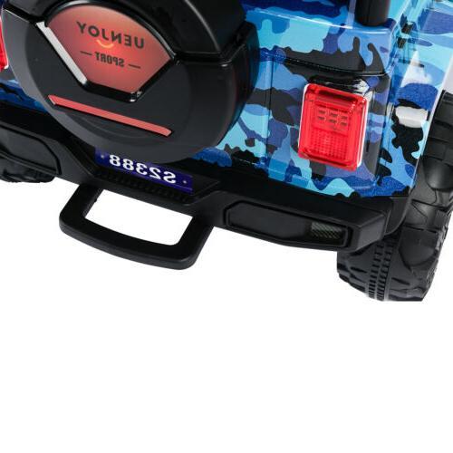 12V Car Battery Suspension With Blue