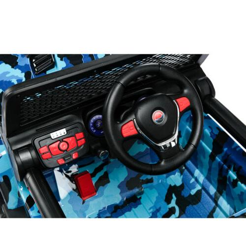 Car Electric Battery Toys Suspension With Remote Blue