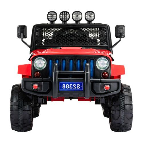 12V Ride Car Toys Light Suspension 3 W/ RC