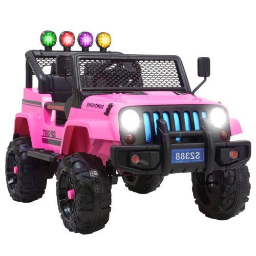 12V Ride Toys Car Powered Music