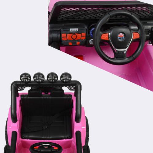 12V Ride on Toys Car Battery Music