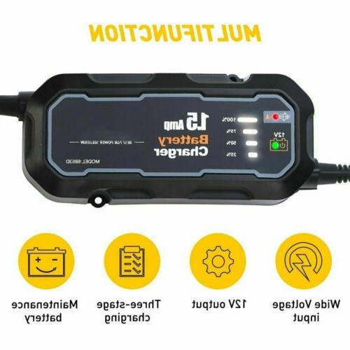 1500mAh Car Jump Booster Jumper Bank Battery