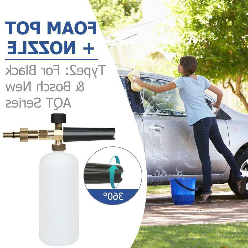 1L Pressure Washer Gun Foam Cannon Sprayer