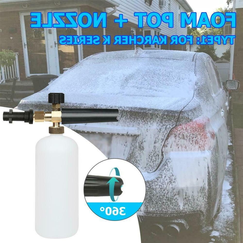 1L Washer Snow Foam Lance Generator Sprayer